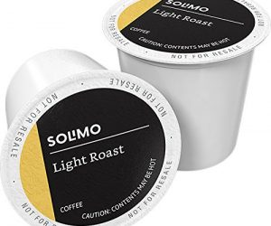 100 Ct. Solimo Roast Coffee K-Cup Pods, Morning Light: $28.99 (was $33.79)