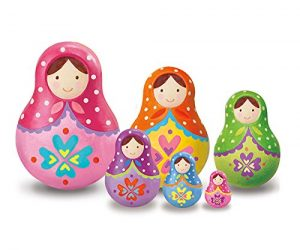 4M Paint Your Own Russian Nesting Dolls Kit: $8.00 (was $11.99)