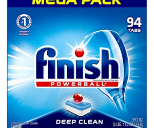 Finish – All in 1 – 94ct: $9.20 (was$14.36)