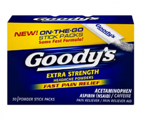 Goody's Extra Strength Powders 50 Count: $3.98 (was$5.86)