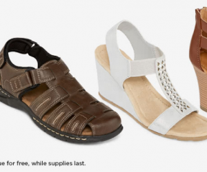 Sandals Buy One Get 2 Free!
