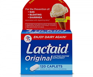 Lactaid Original Strength, 120 ct.: $7.78 (was $11.97)