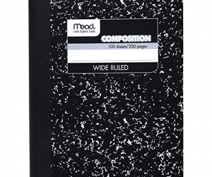 Mead Composition Book/Notebook: $0.50 (was$2.68)