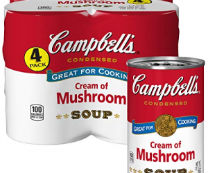Campbell's Condensed Cream of Mushroom Soup Pack of 4: $2.58 (was$3.98)