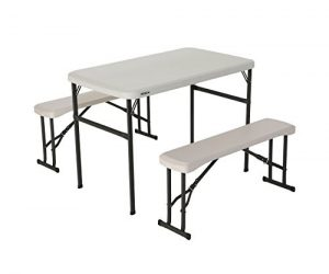 Lifetime Portable Folding Picnic Table and Bench Set: $67.74 (was $84.68)