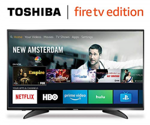 Toshiba 43-inch 1080p Full HD Smart LED TV: $179.99 (was $250.00)