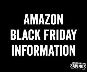 Amazon Black Friday Information