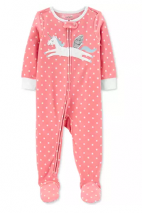 Carter's Baby Girls Unicorn Fleece Pajamas